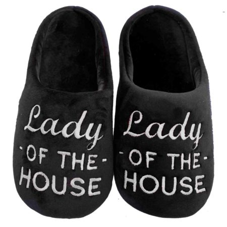 Lady-of-House-black-White