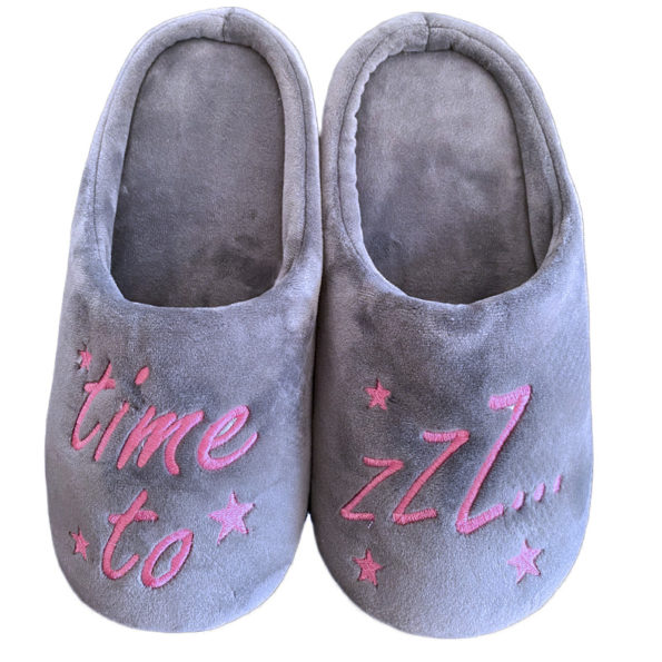 Time to Z – Slippers